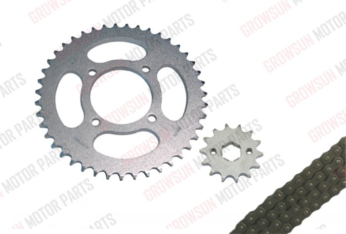 YBR125 SPROCKET AND CHAIN KIT